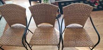 Crate and Barrel Barstools - Set of 3 in Algonquin, Illinois