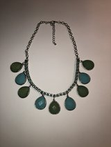 Silver Necklace with Turquoise/Green in Naperville, Illinois
