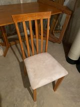 Dining Table & New Chairs in Morris, Illinois