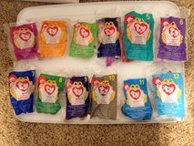 McDonalds Teenie Beanie Babies full set of 12 in Kingwood, Texas