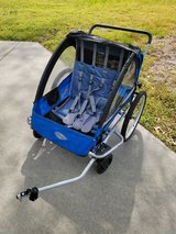 Instep 2 child convertible running & bike trailer/stroller in Camp Lejeune, North Carolina