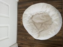 White soft small dog bed in Fort Campbell, Kentucky