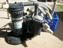 **JACCUZI OR POOL FILTER SYSTEM WITH HOSES** in Alamogordo, New Mexico