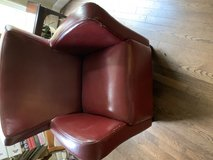 Leather reading chair in Fort Campbell, Kentucky