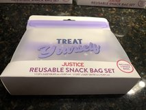 3 New Reusable Snack Bag Sets - (2 Bags per Set) in Naperville, Illinois
