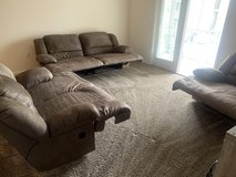 Ashley Furniture 3 Piece Couch Set in Eglin AFB, Florida