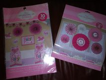 Girl baby shower decorations in The Woodlands, Texas