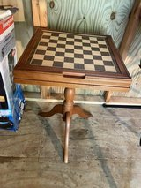 Deluxe Chess & Backgammon Table-New in Beaufort, South Carolina