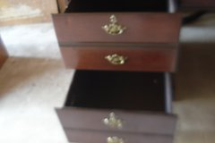 3 DRAWER WRITING DESK - SOLID WOOD - SEE PHOTOS & DESCRIPTION in Naperville, Illinois