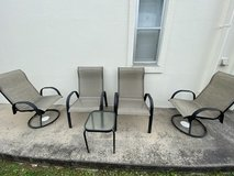 Patio Chairs in Okinawa, Japan