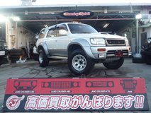 TOYOTA HILUX SURF Diesel (White) 1997y $13,330.00 including JCI 2yers in Okinawa, Japan