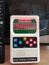 Electronic football game in Yucca Valley, California