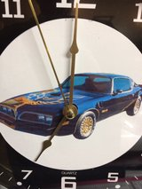 Smokey and the bandit Trans Am clock in Fort Leonard Wood, Missouri