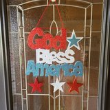 4th of July Door Hanging in St. Charles, Illinois