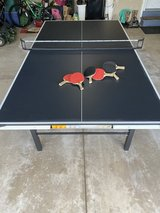 Like New: Stiga Ping Pong Table w Accessories in Naperville, Illinois
