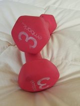Set of 3lb. hand held weights in Camp Pendleton, California