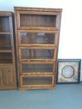 Dark Oak Enclosed Bookcase in Alamogordo, New Mexico