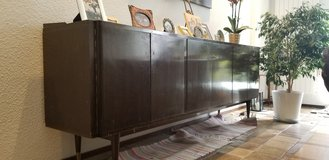 Vintage cabinet (size approx. 98 in. x 20 in x 35 in.) in Wiesbaden, GE