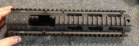 UTG PRO Extended Length Carbine Drop-in Quad Rail in Beaufort, South Carolina