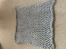 Chunky knit baby blanket in Naperville, Illinois