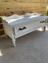 Large Painted Storage Bench in Kingwood, Texas