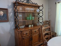 Hutch and Dining Room Table in Kingwood, Texas