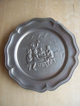 Vintage German Pewter Wall Decoration (ca. 1930) in Wiesbaden, GE