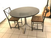 Dining Set Round Dining Table With 2 Chairs Dining Table Set in Ramstein, Germany