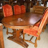 Heavily-Built Farmhouse Table       Article number: 057360 in Ramstein, Germany