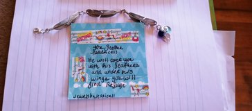 handmade jewelry with quotes by me in Fort Bliss, Texas