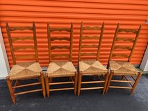 4 Ladder back Chairs in Cherry Point, North Carolina