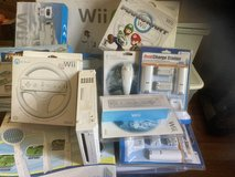 Wii with accessories in Fort Polk, Louisiana