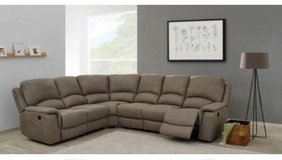United Furniture - Sectional Deauville - with Recliners - Material - as shown - includes Delivery in Hohenfels, Germany