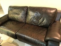 leather electric reclining couch in Alexandria in Fairfax, Virginia