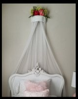 Wall Art/Crown Canopy with Tulle in Travis AFB, California