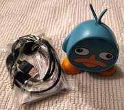 Perry the Platypus rechargeable mini speaker in Fairfax, Virginia