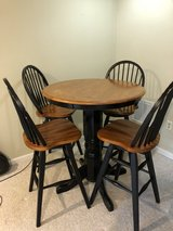 bar table and stools in Fairfax, Virginia