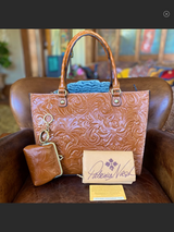 Patricia Nash Tooled Leather Tote in Las Cruces, New Mexico