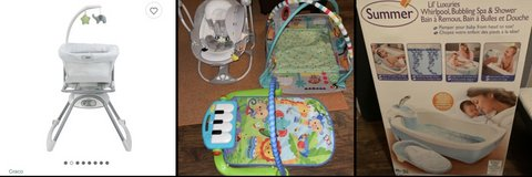 Baby items in Fort Lewis, Washington