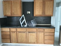 Stove, dishwasher ,refrigerator and full-size of kitchen cabinets in Fort Polk, Louisiana