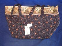 Vera Bradley Black Walnut Purse Tote Collection 1999 to 2002 VINTAGE NEW in Glendale Heights, Illinois
