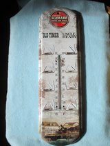 Schrade Knives Advertising Tin Thermometer _NIB in Glendale Heights, Illinois
