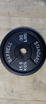 Olympic Weight Set in Baumholder, GE