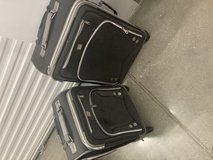 Suitcase set in Lackland AFB, Texas