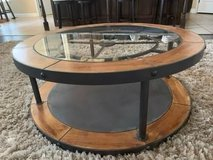 Denton Clock Coffee Table in Bellaire, Texas
