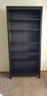 Black/Brown Hemnes Bookcase in Algonquin, Illinois