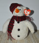 REDUCED Ty CHILLINGS Snowman plush in 29 Palms, California