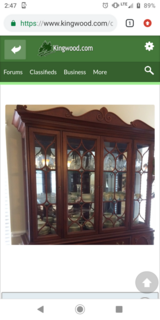 Heirloom Quality,  Display/Curio cabinet in The Woodlands, Texas