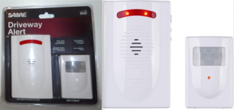 New! SABRE Driveway Alarm – Wireless Motion Sensor Security System in Chicago, Illinois