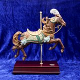 """LARGE HORSE SAN FRANCISCO MUSIC BOX CO. """"CHARIOTS OF FIRE"""" in Travis AFB, California"""